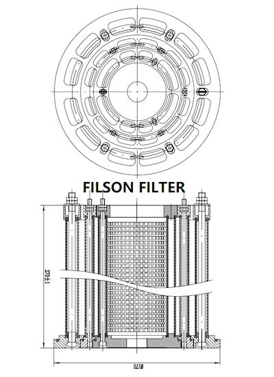 FILSON MULTI MANTLE FILTER