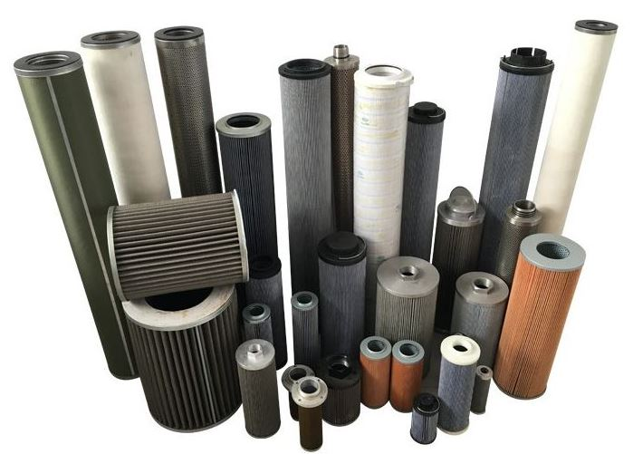 Different types of hydraulic filters