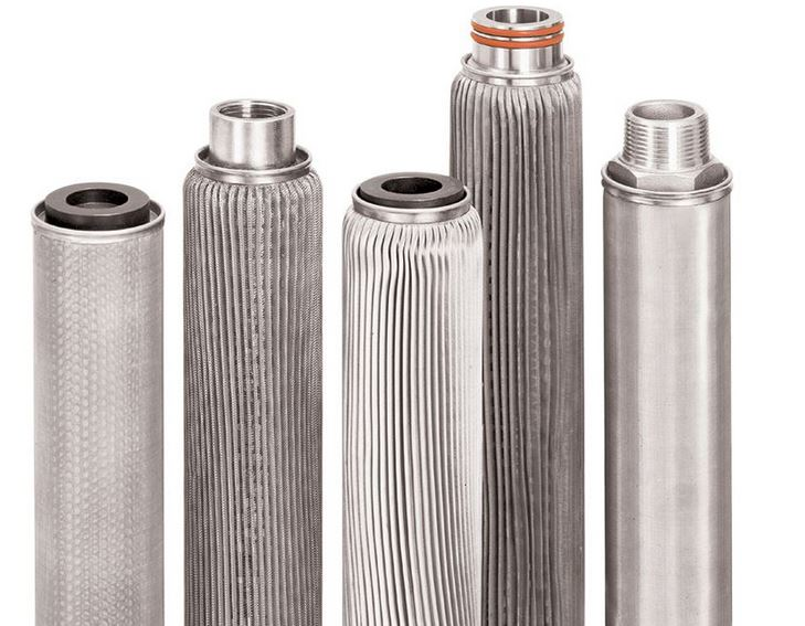 Different end configurations for stainless steel filter cartridge