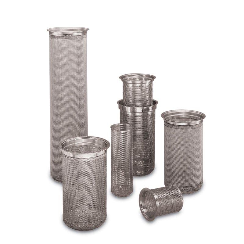 Stainless steel filter basket