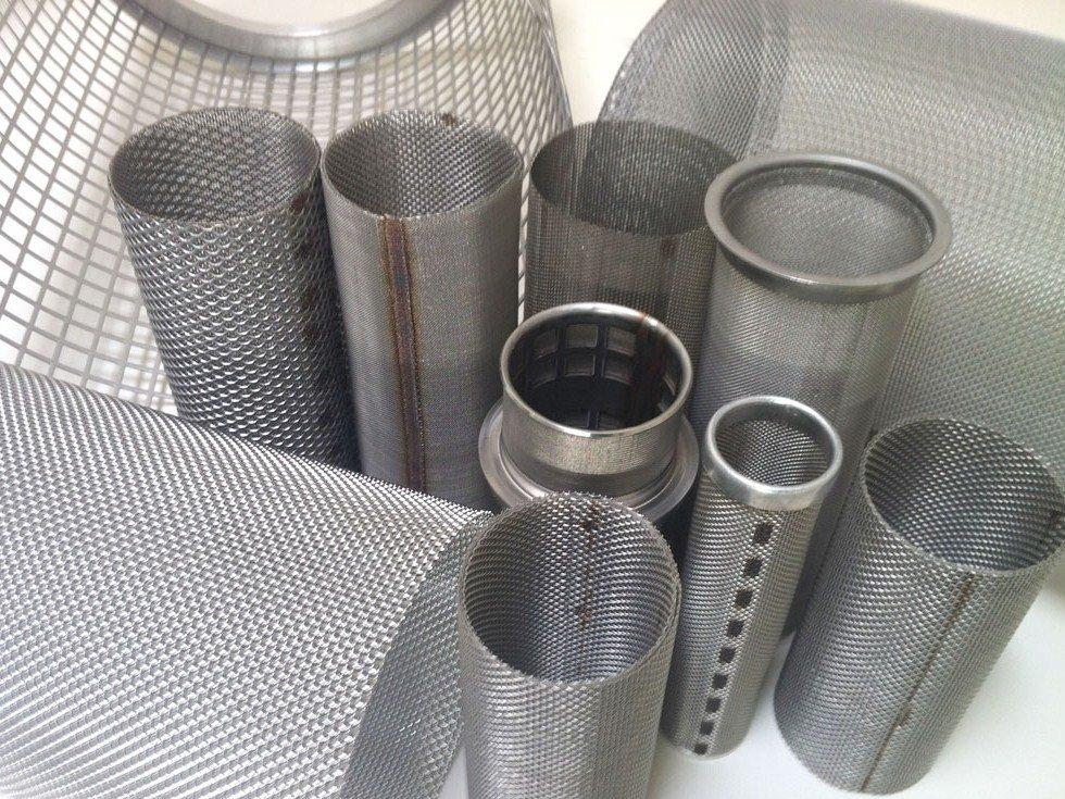 Stainless steel basket filters