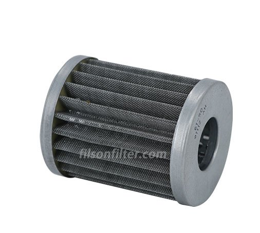 Hydraulic suction filter element