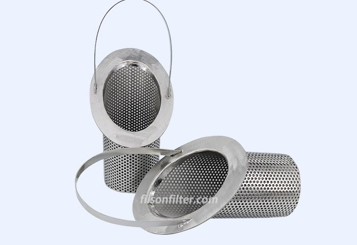 stainless steel basket filter副本