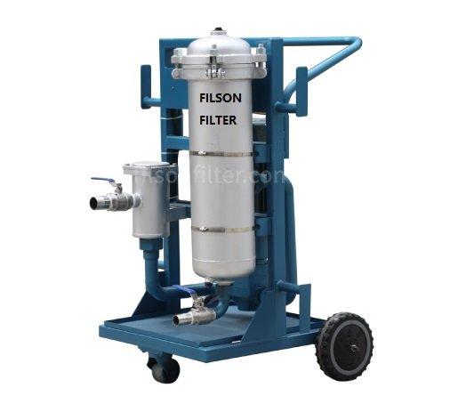 Portable Oil Filter Cart