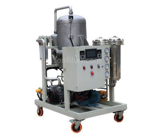 Oil Purifier for Phosphate Ester Fluids