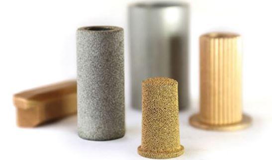 Sintered metal filtration system