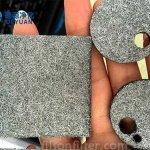 Sintered-metal-fiber