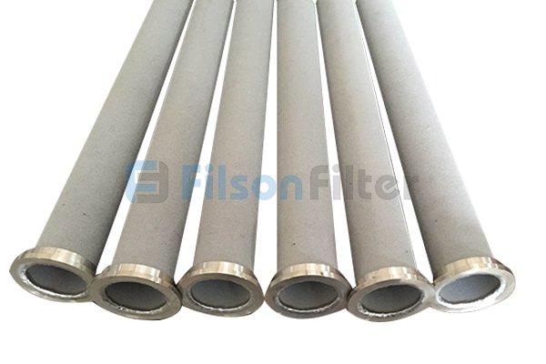 sintered metal tube filter