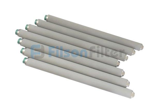 sintered titanium powder filter
