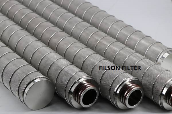 Pleated Sintered Filter Cartridge