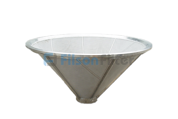 Conical Sintered Filter sintered mesh filter