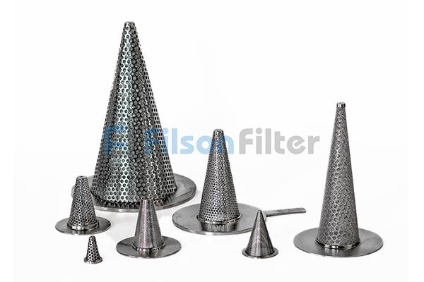 Conical Sintered Filter sintered metal mesh filter element