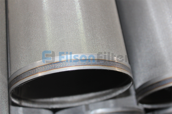 Sintered Dust Collector Filter Bag stainless steel