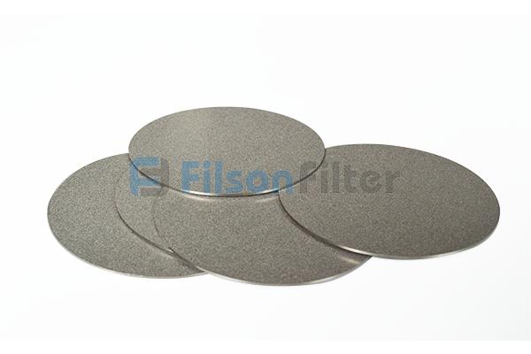 porous metal disc sintered porous disc