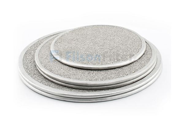porous stainless steel disc FILSON SINTERED FILTER