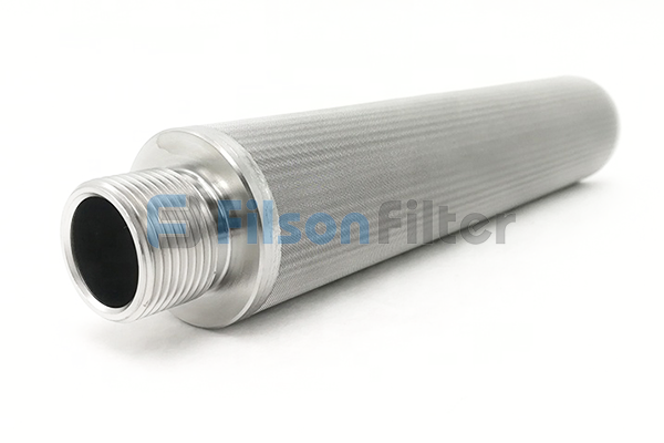 sintered Nickel filter sintered Nickel mesh filter