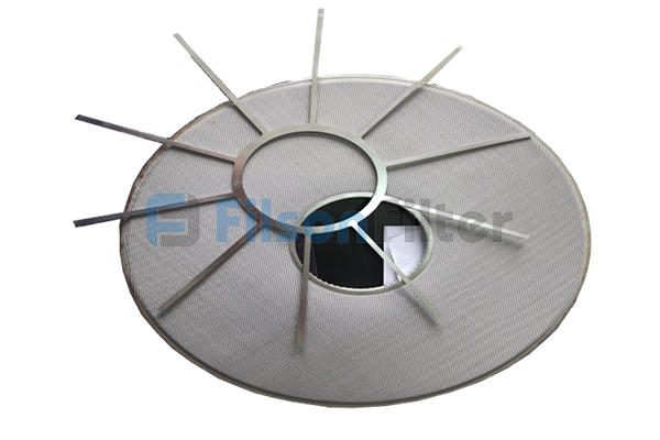 sintered mesh filter plate sintered SS mesh plate