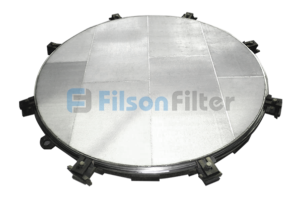 sintered mesh filter plate sintered metal filter plate