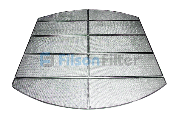sintered mesh filter plate sintered stainless steel 304 316L