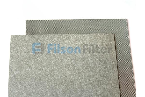 sintered metal sheet sintered mesh