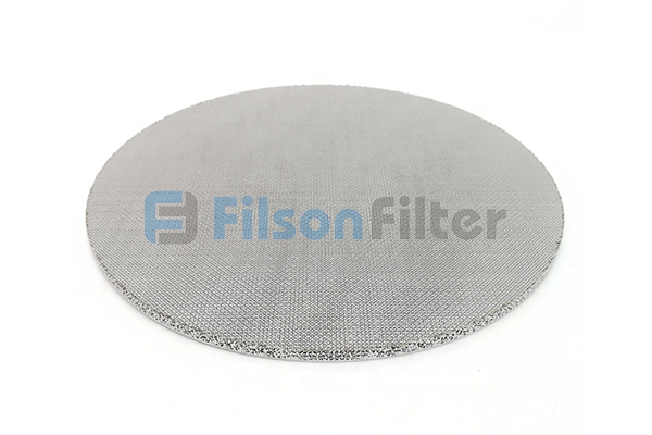 sintered stainless steel disc sintered SS disc filter