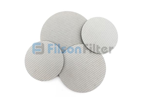 sintered stainless steel disc sintered mesh