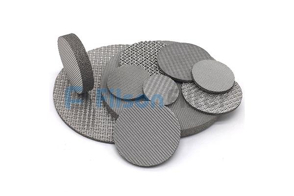 sintered stainless steel disc sintered metal disk