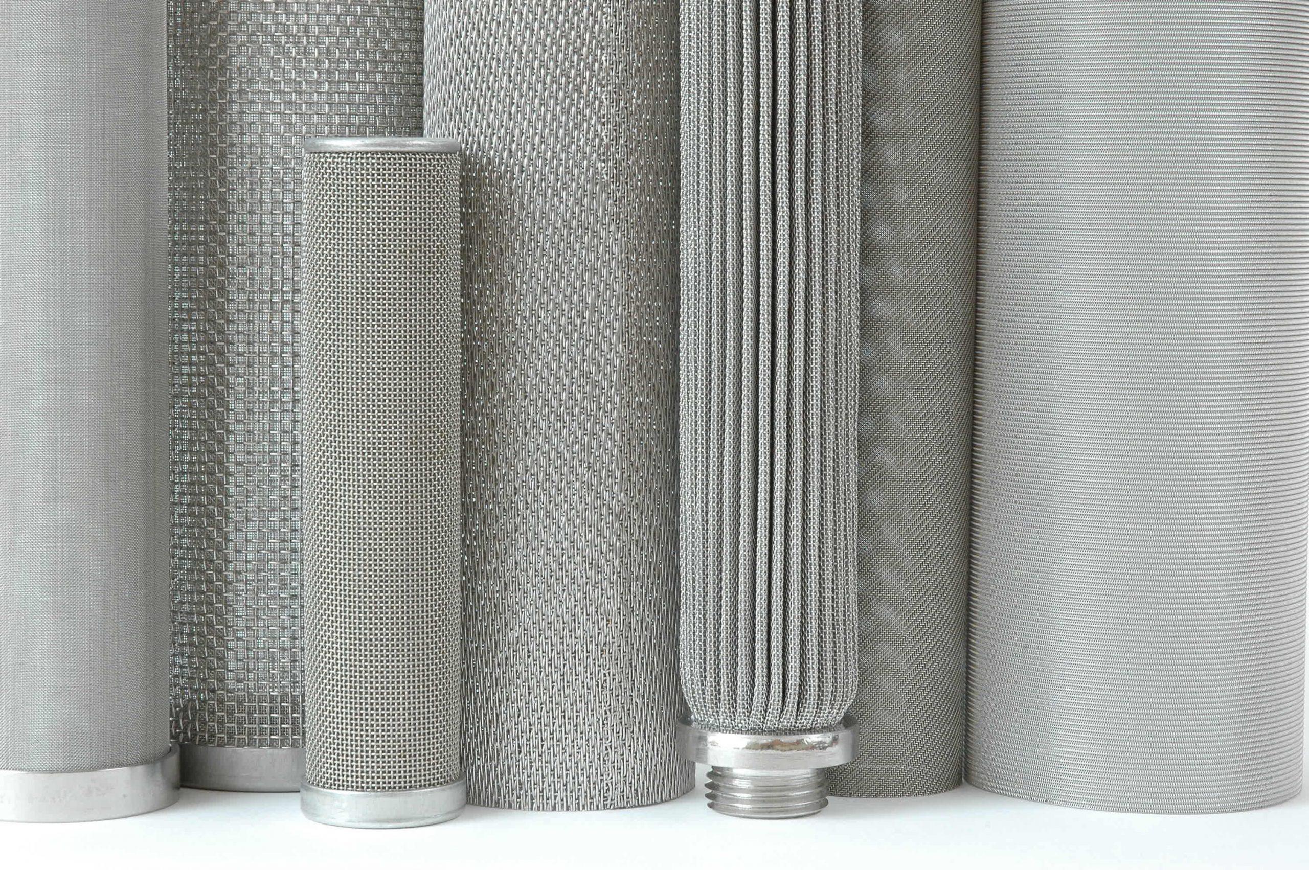 Porous metal filters