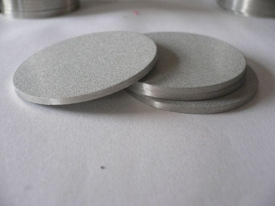 Steel sintered metal filters